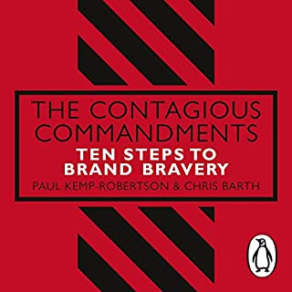 The Contagious Commandments audiobook cover art