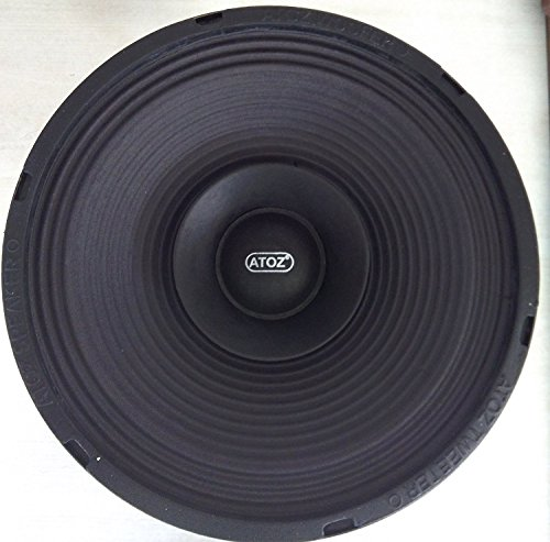 Crispy Deals ATOZ 8-inch Loud Speaker Musical 4 Ohm 40 Watts (Ramp...