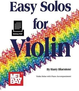 Easy Solos For Violin