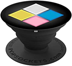 The Great Diamond Authority - Beautiful Universe Gem - PopSockets Grip and Stand for Phones and Tablets