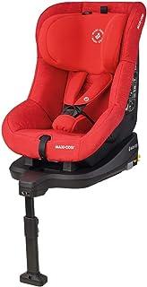 Maxi-Cosi Tobifix Silla coche isofix grupo 1, reclinable 3 posiciónes, crece con el niños 9 meses - 4 años (9-18 kg), color nomad red