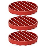 Silicone OXO Good Grips Pressure Cooker Roasting Rack Pack of 3, 1
