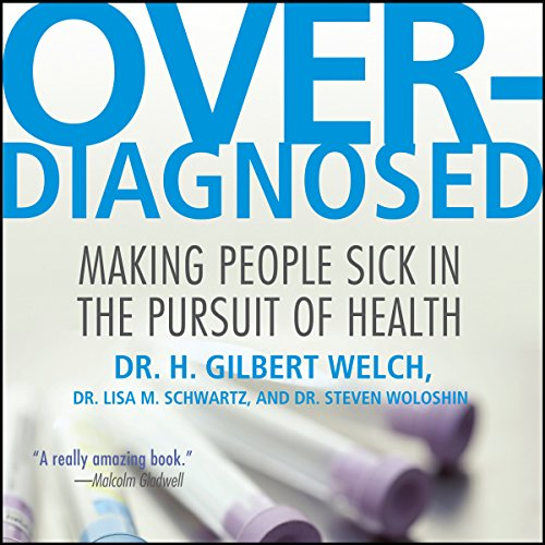 Overdiagnosed audiobook cover art