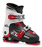 Roces Patins Idea Up 19,0–22.0Enfants réglable pour Chaussures de Ski, Enfant, Idea UP 19.0-22.0, Noir/Blanc/Rouge, 30-35
