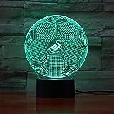 Runde kugelförmige Lichtillusion Lichtfarbe Touch Nachtlicht Kindergeschenk