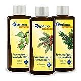 Spitzner Saunaaufguss-Set Waldduft 3 x 190 ml – Gesundheitsaufgüsse mit aromatischem Saunaduft...