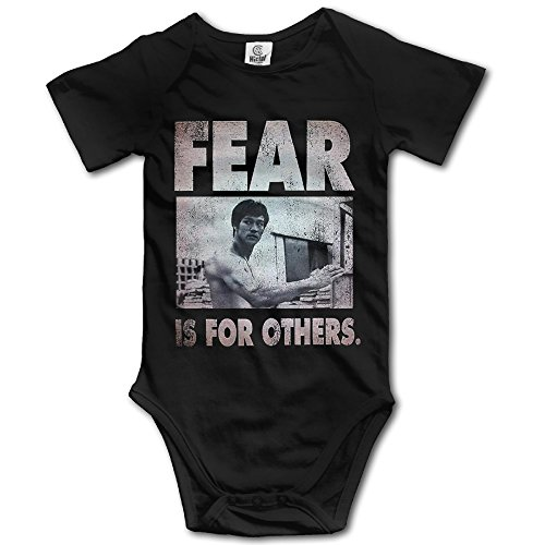 Bruce Lee - Fear Is For Others Baby Onesie Toddler Clothes Outofits
