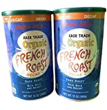 2 Packs Trader Joe's Fair Trade Organic French Roast Decaf