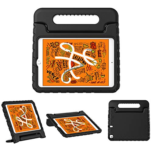 TiMOVO Case fit New iPad mini 5 2019 (7.9', 5th Generation), ShockProof Convertible Handle Light Weight EVA Kids Friendly Protective Stand Cover Case fit iPad mini 7.9' 2019 - Black