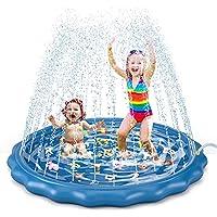 Jasonwell Sprinkler for Kids Toddlers Splash Pad Play Mat