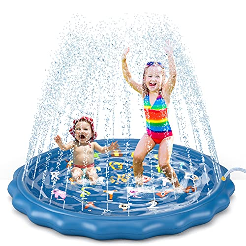 Jasonwell splash pad play mat review