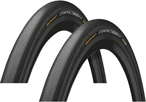 Continental Contact Speed Fahrradreifen, Doppelsicherheitssystem, 66 cm, Draht, Schwarz, 2019 26 Zoll, Schwarz, 32-559 | 26 x 1,3