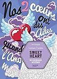 Coloriages mystères Sweet heart: 50 coloriages mystères