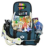 Lightning X Deluxe Stocked Large EMT First Aid Trauma Bag Fill Kit w/Emergency Medical Supplies...