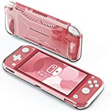 IVSO Funda Carcasa para Nintendo Switch Lite, Slim Protectora Carcasa Cover para Nintendo Switch Lite 2019, Clear