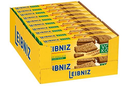 LEIBNIZ Vollkornkeks - 20er Pack - Vorratsbox - Knackfrisch (20 x 200 g)