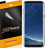 Supershieldz (2 Pack) for Samsung (Galaxy S8) Screen Protector, (Case Friendly) High Definition Clear Shield