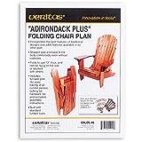 Veritas Folding Adirondack Plus Chair Plan
