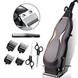 Tondeuse cheveux hommes professionnel,Tondeuse à cheveux, kit de coupe de cheveux professionnel avec cordon, ultra-faible bruit...
