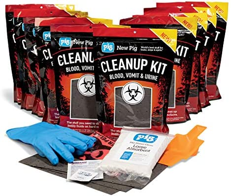 Blood Vomit Urine Cleanup Kits by New Pig Body Fluid Spill Kit Got Clean Up Kit Blood Spill product image
