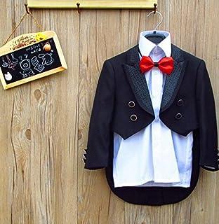 (マリア)MARIAH 子供タキシード フォーマル スーツ 男の子 キッズ ベスト set 結婚式 発表会 七五三 5点セット