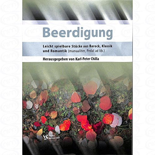 Beerdigung - arrangiert für Orgel [Noten/Sheetmusic]