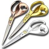 tijeras costura, aleación aluminio de mango, 24 cm, tijeras de acero inoxidable para costura (diestros)
