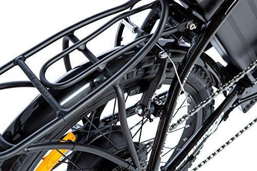 Moma Bikes ebike 20.2 Vélo Pliant Électrique Adulte Unisexe, Noir, Unique Size