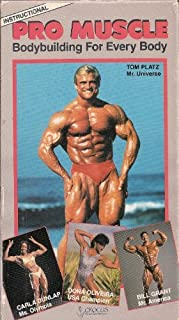Pro Muscle/Body Building VHS
