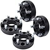 IRONTEK 1.5in Hubcentric Spacer fit Chevy GMC Cadillac 6x5.5/6x139.7 Wheel Spacers 14x1.5 Studs 78.1mm Bore for Chevy Silverado 1500/C2500/Tahoe/Suburban GMC Yukon/Sierra 1500, 99-19 Cadillac Escalade