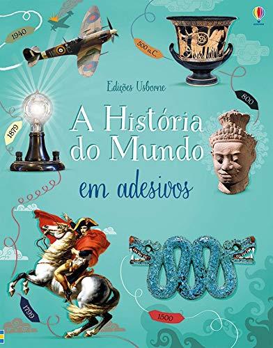 A história do mundo : Em adesivos