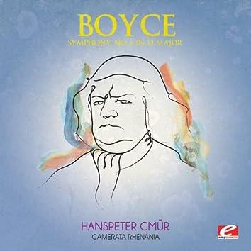 Boyce: Symphony No. 5 in D Major (Digitally Remastered)