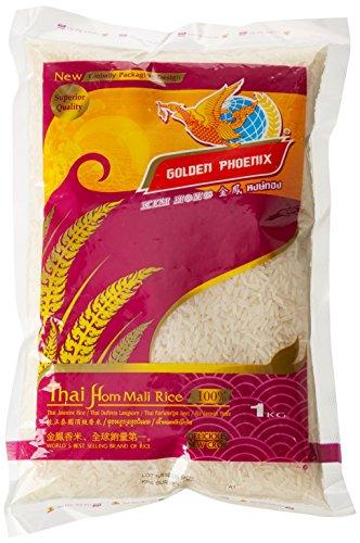 Golden Phoenix Riz Parfumé 1 kg - Lot de 2