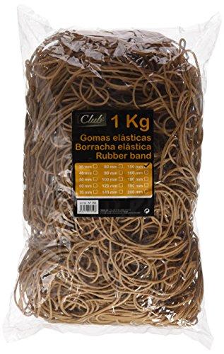 Bismark 301759 152126 - Bolsa con gomas elásticas de 15 cm, 1 kg