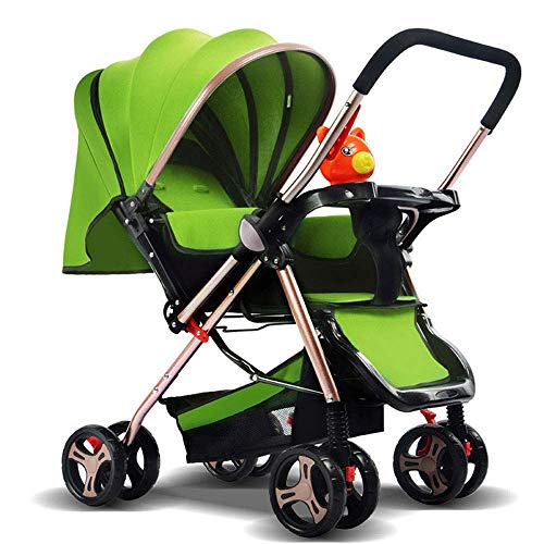 Find Bargain LQRYJDZ Baby Stroller,Baby Carriage Pushchairs Baby Push Lite Shopper Neo Adjustable Handles Pushchair Baby Stroller Age 18 Months – 3 Years (Color : Green),Colour:Red (Color : Green)