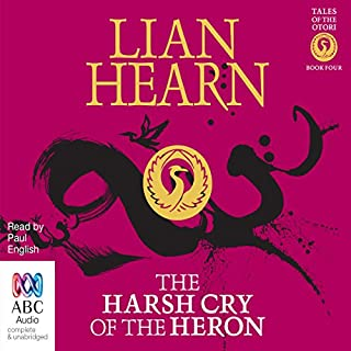 The Harsh Cry of the Heron audiobook cover art
