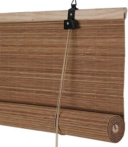 RENQIAN Home Bamboe gordijn rolluiken jaloezieën voor deur/balkon/theestube lichtfiltering