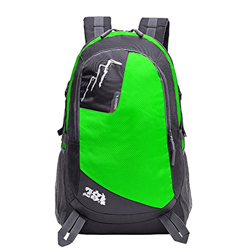 Sports Backpack Mountaineering Backpack Hiking Backpack Waterproof And Breathable Multifunctional Leisure Camping Backpack Best Holiday Gift,Green