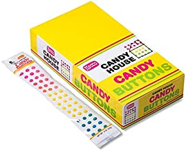 product image for CANDY BUTTONS by Necco twenty four 2-strip packs (48 strips)