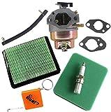 HURI Carburateur & Joint & Filtre à Air & Bougie d'allumage pour Honda GC160 GCV135 GCV160 GC135 HRB216 HRT216 Remplace 16100-Z0L-013 Grass Trimemer