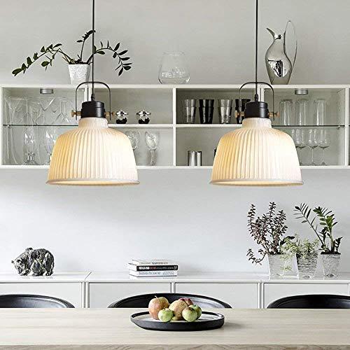 G-D plafondlamp kroonluchter enkele kop glazen kroonluchter grijs wit cognac kleur optioneel 28 cm 20 cm voor slaapkamer, eetkamer, woonkamer, bar, restaurant, wooncultuur