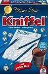 Schmidt Spiele 49203 Classic Line: Kniffel mit großen Würfeln & Block