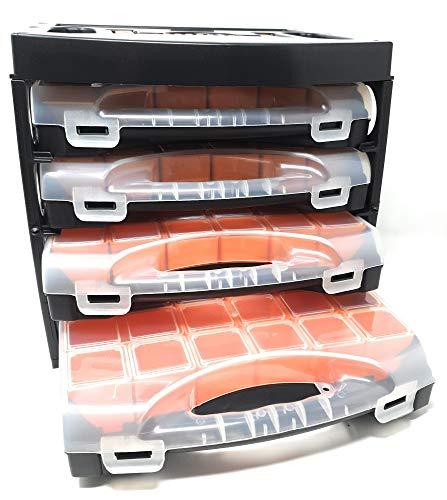 Toolzy 101556 20 Tlg Set Werkzeugkoffer leer Kofferschale Werkzeugkiste Werkzeugkasten Organizer
