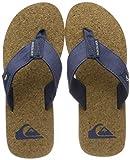 Quiksilver Molokai Abyss Cork-Sandals For Men, Zapatos de Playa y Piscina Hombre, Azul (Blue/Brown/Blue Xbcb), 42 EU