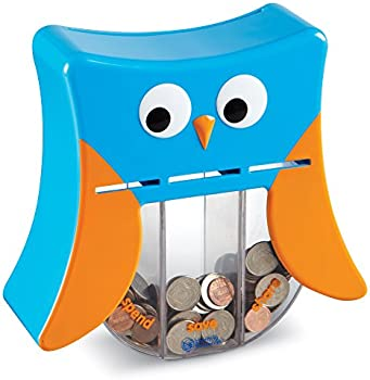 Learning Resources Wise Owl Teaching Bank, Money Toy