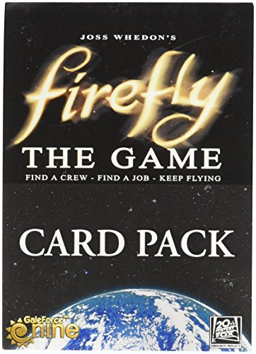 Juego de Cartas Firefly Gale Force Nine Booster
