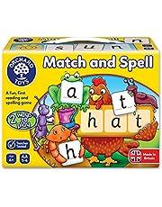 "Orchard Toys ordbrädspel ""Match and Spell"", engelsk version"