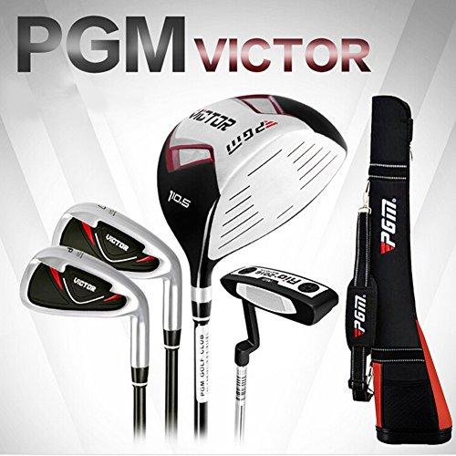 PGM Golf Set Golfschläger Halb Set - 4-Clubs mit Club Bag, Rechtshänder, Graphit Schaft, Style 1 for Men