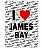 AK Giftshop Poster I Love James Bay – Geschenk –