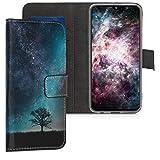 kwmobile Wallet Case kompatibel mit Samsung Galaxy A40 -